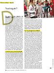 Tous bagués ? Enfant magazine, 2012.