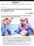 Une consultation chez le dentiste gratuite pour les enfants de 3 ansJournal des femmes, 2019.